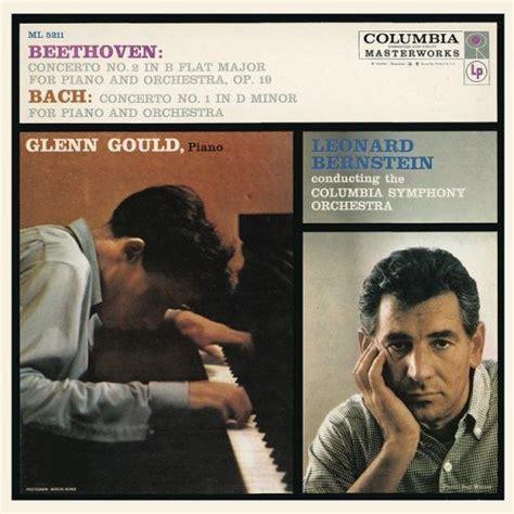 glenn gould no beethoven bach piano concertos glenn gould columbia symphony orchestra leonard bernstein