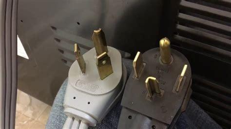 change dryer cord   prong   prong easy