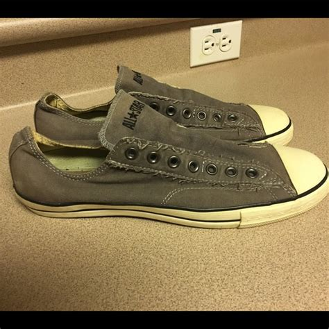 converse sneakers no laces converse pre owned converse no lace s 10 5 from