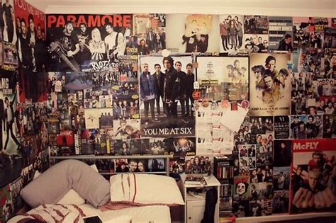 bedroom band tumblr wall posters cool paramore posters bands poster