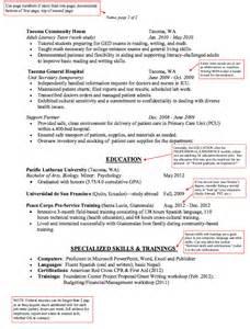 sample nurse volunteer resume sample volunteer resume