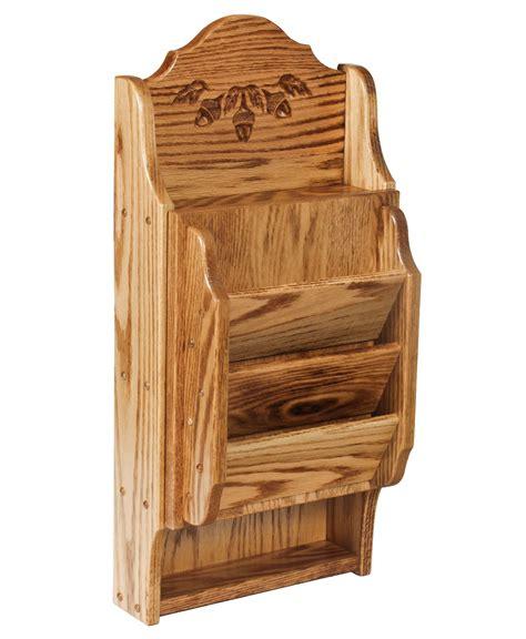 Letter Display letter holder key cabinet acorn oak amish direct furniture