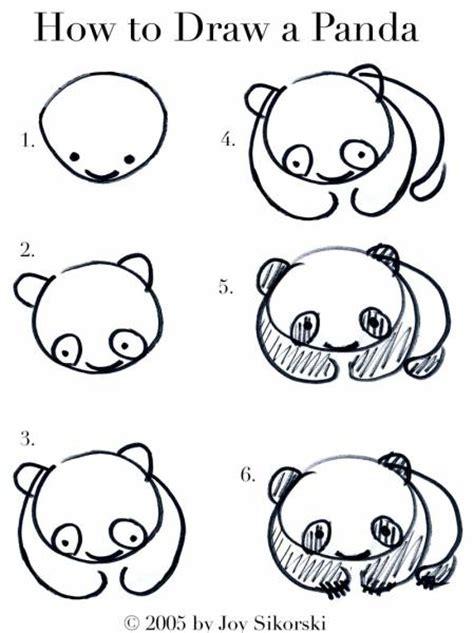 how to draw a doodle monkey comment dessiner un panda cabane 224 id 233 es