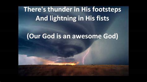 w lyrics awesome god by rich mullins w lyrics