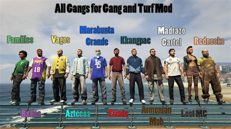 Auto Gang by All Gangs For Gang And Turf Mod Gta5 Mods