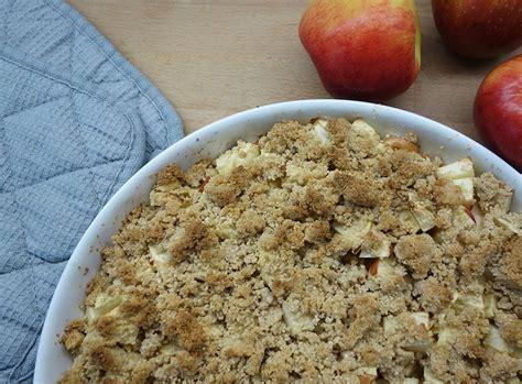 kuchen rezept einfach schnell lecker einfach und lecker apfel crumble 5 zutaten ekulele