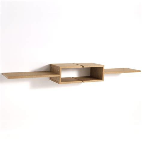 mensole in rovere coppia mensole design frequencyl in legno rovere 75 cm