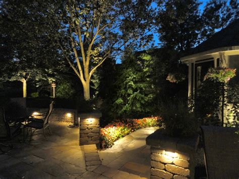 Landscape Lights Hardscape Portfolio Ldf Outdoor Lighting