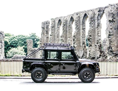 custom land rover defender for sale the custom land rover defender svx from spectre is for
