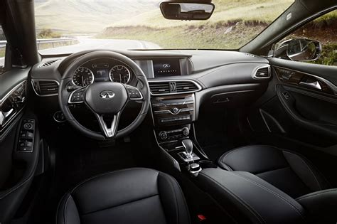 infiniti qx30 interior infiniti qx30 production model unveiled at la