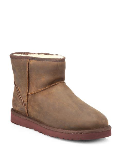mens mini ugg boots ugg mens mini boots