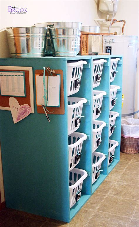 diy clothing storage ana white brook laundry basket dresser 4 tall and