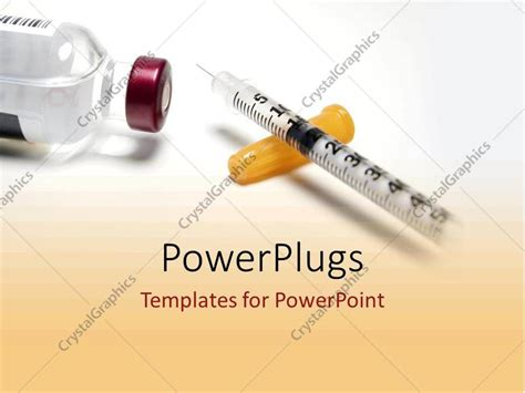 Powerpoint Template Diabetic Drugs And Medicine From Diabetes Powerpoint Template