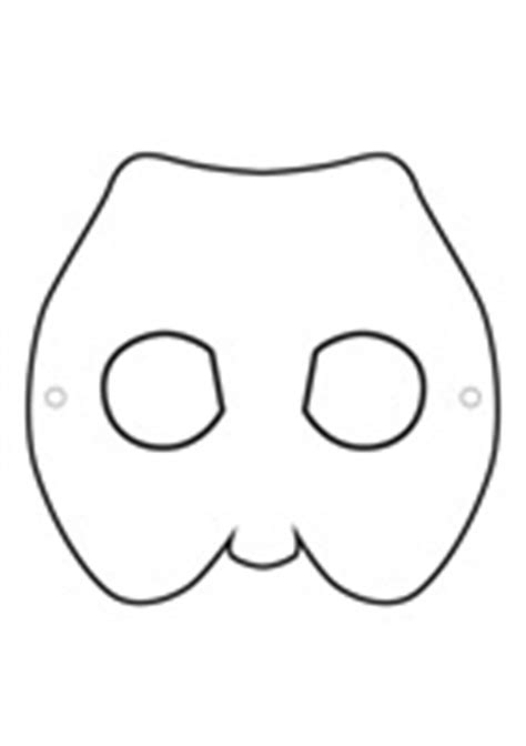 printable echidna mask templates masters ftfs