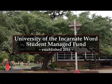 Of Incarnate Word Mba Ranking by Of The Incarnate Word Student Managed Fund
