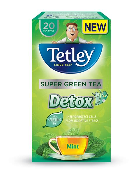 Green Tea Detox For by Tetley Green Tea Sloan Magazine