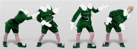 printable dancing elf elfs new calendar template site