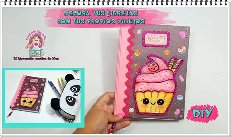 videos de como decorar libretas diy tutorial decora tus libretas estilo kawaii