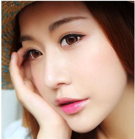 popular korean instagram trend makeup tutorial korean asian fresh spring makeup look diy beauty tutorial