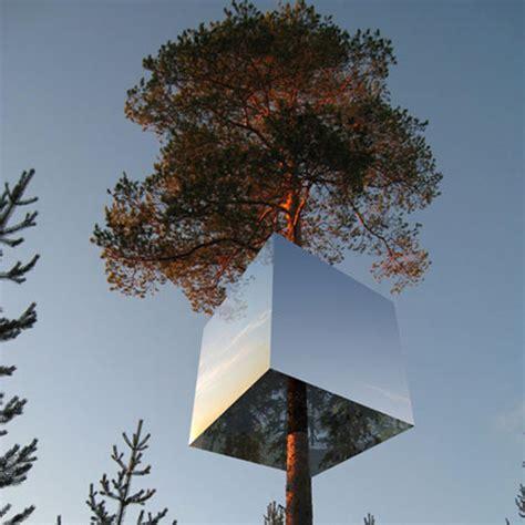 beautiful mirrored tree house enpundit