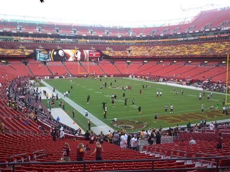 fedex field section 214 fedexfield section 214 rateyourseats com