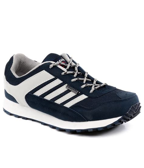 sport shoes buy prozone blue sport shoes for snapdeal