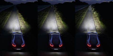 automakers eye laser lights to let drivers see farther at
