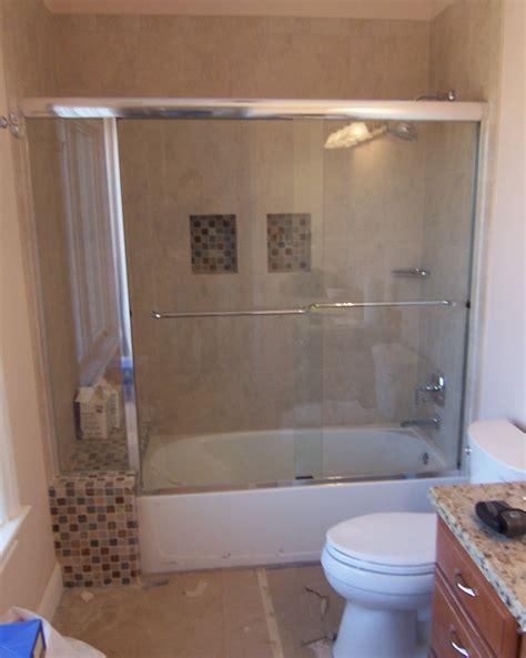 bathtub sliding doors installation images of sliding tub door installation woonv com