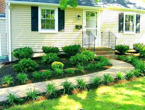 home yard appealing landscaping plans for ranch house photos best
