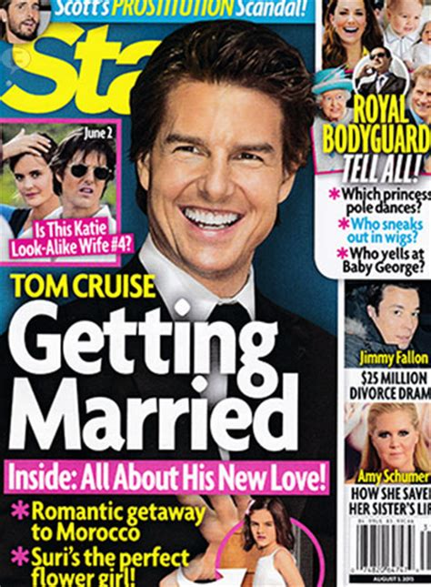 tom cruise gets married tom cruise se va a casar con su asistente emily thomas