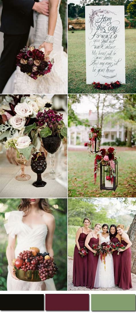 october wedding colors 65 best images about fall wedding colors on