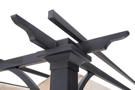 aluminum pergola kits steel pergola kits   metal