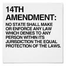 fourteenth amendment section 1 amending the constitution for the people bill of rights