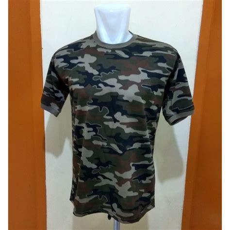 Tshirt Kaos Army kaos army polos kaos loreng polos bahan katun 04