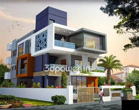 3d exterior house design ultra modern home designs house 3d interior exterior