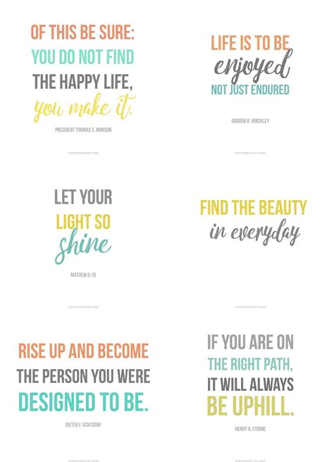 Quoted Printable Html Email | some inspiring quotes to download as free prints