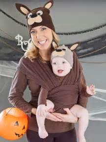 halloween costumes for mom and toddler make a matching mom and baby kangaroo costume hgtv