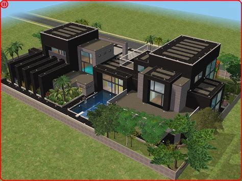 home design for sims sims 2 houses modern colorful home decor sims 3