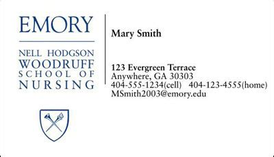 business card template emory rollins error 404 page not found nell hodgson woodruff school