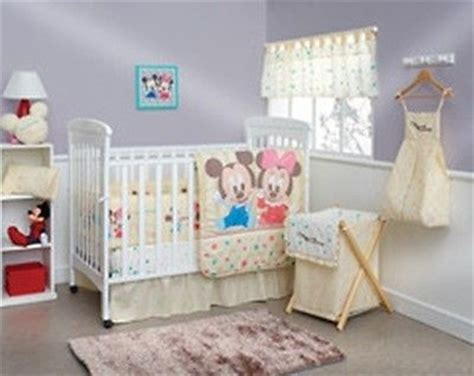Mickey And Minnie Crib Bedding New Baby Friends Minnie And Mickey Crib Bedding Nursery Set 7 Pc Pitter Patter