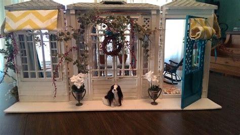 mod o rama fashion doll furniture dollhouse repaint exterior project