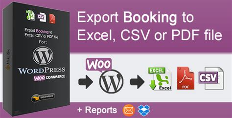 W00c0mmerce Bookings V1 10 6 1 woocommerce booking export v1 0 1 plugin