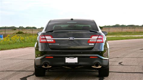 2013 ford taurus hp hennessey builds 445 hp ford taurus sho