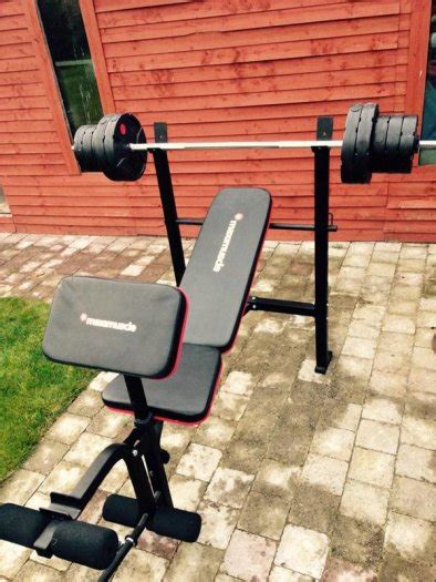 maximuscle bench maximuscle bench and weight package other for sale in