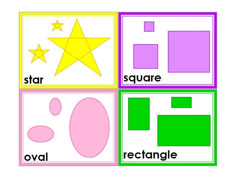 shape flash cards templater 7 best images of kindergarten printable shapes flash cards