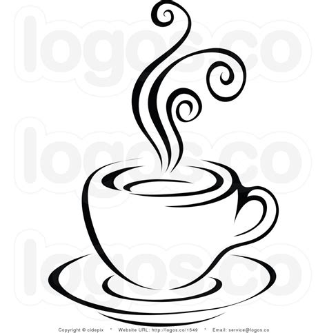 Coffee Clipart Black And White   Clipart Panda   Free