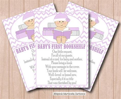 Baby Reading Pink bring a book instead of a card baby shower pink chevron book request with baby reading