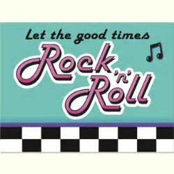 Baby shower cake slogans rock n roll 50s party invitations 8pk 50 s