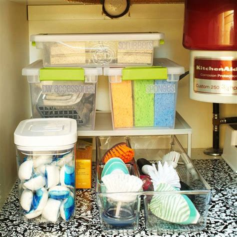 kitchen under sink storage under the sink storage solutions