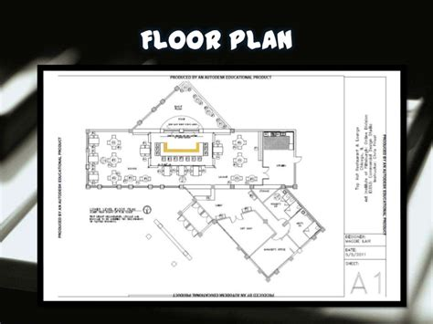 fine dining restaurant floor plan restaurant design presentation